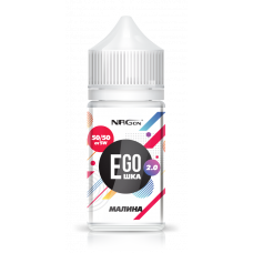 Жидкость NRGon EGOшка 2.0 POD - Малина 30 мл