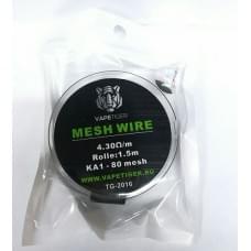 Сетка Vapetiger Mesh Wire KA1-80 4.3 Ом 1.5м