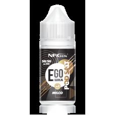 Жидкость NRGon EGOшка Salt - Milco