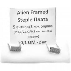 Койлы New Coils Alien Framed Staple Плата 0.15 Ом A1+NI, (6x0.4), пара