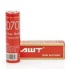 Аккумулятор AWT 20700 4200mAh 40A